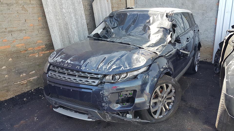Sucata Land Rover Evoque Pure P5D 2.0T 16V 240CV Automatica 4x4 Gasolina | Ano: 2012/2012