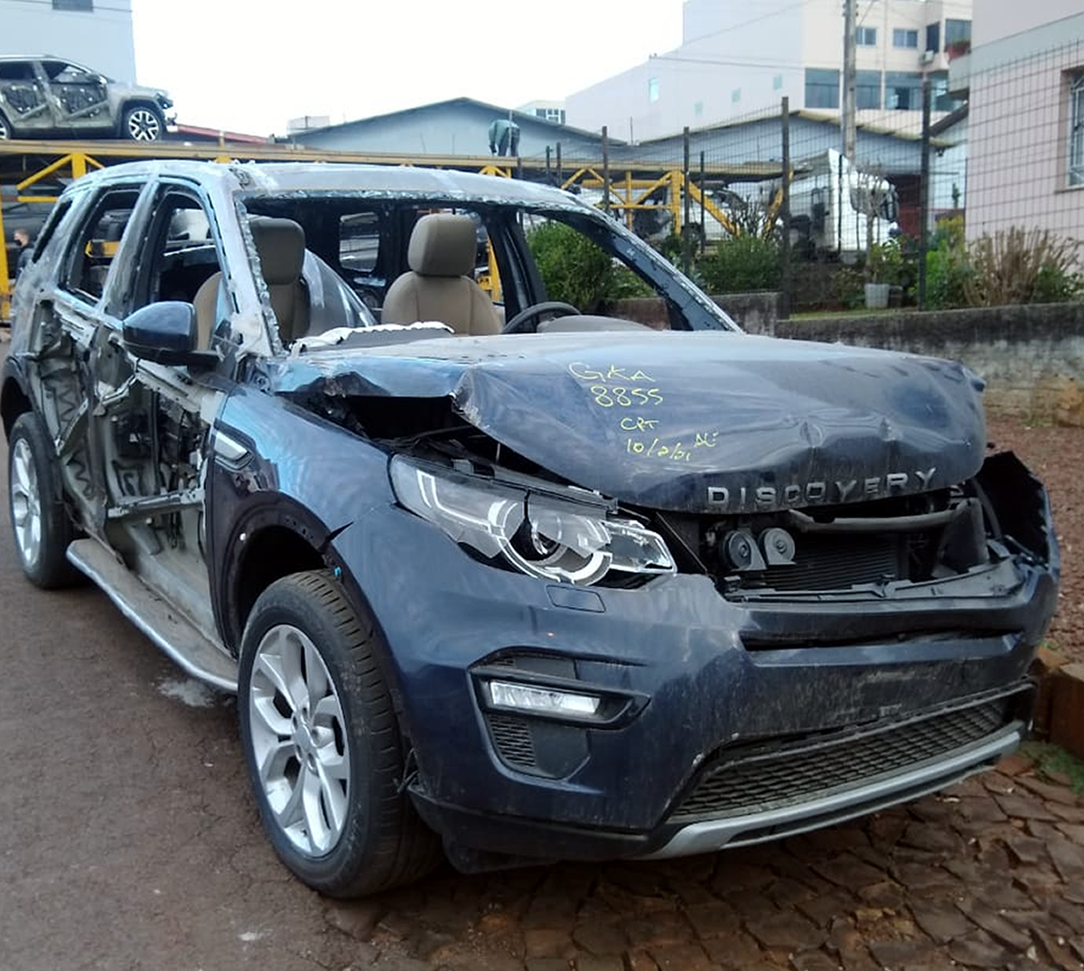 Sucata Discovery Sport Diesel 2015 2016