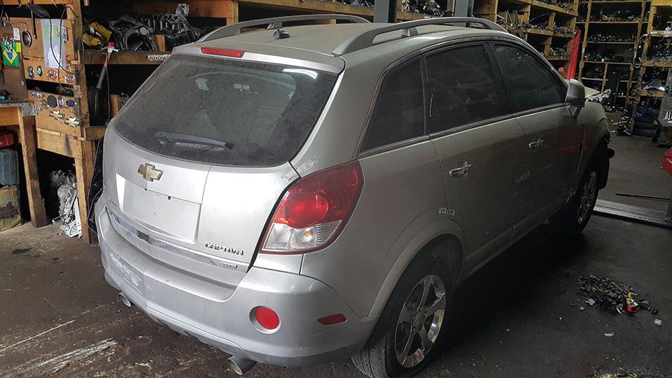 Sucata GM Captiva Sport AWD 3.6 261cv 4x4 Automatica Gasolina Ano: 2008/ 2008