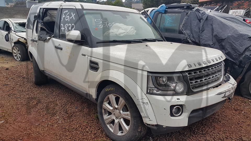 Sucata Land Rover Discovery SDV6 S 3.0 256CV Automatica Diesel | Ano: 2014/2014