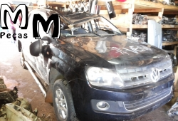 Sucata VW AMAROK CD 4X4 SE 2.0 180Cv Ano: 2013/2013 | DIESEL