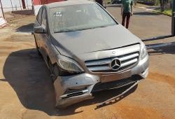Sucata Mercedes B200CGI 1.6 156CV Automatica 4x2 Gasolina | Ano: 2014/ 2014