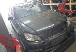 Sucata Mercedes Benz C180 TURBO 1.6 156cv Gasolina Ano: 2013/ 2013