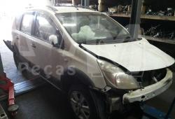Sucata Nissan Livina XGEAR 18SL 1.8 126cv Flex. Ano 2011/ 2012