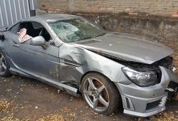 Sucata Mercedes SLK55AMG 5.5V8 421CV Automatico 4x2 Gasolina | Ano: 2012/2012
