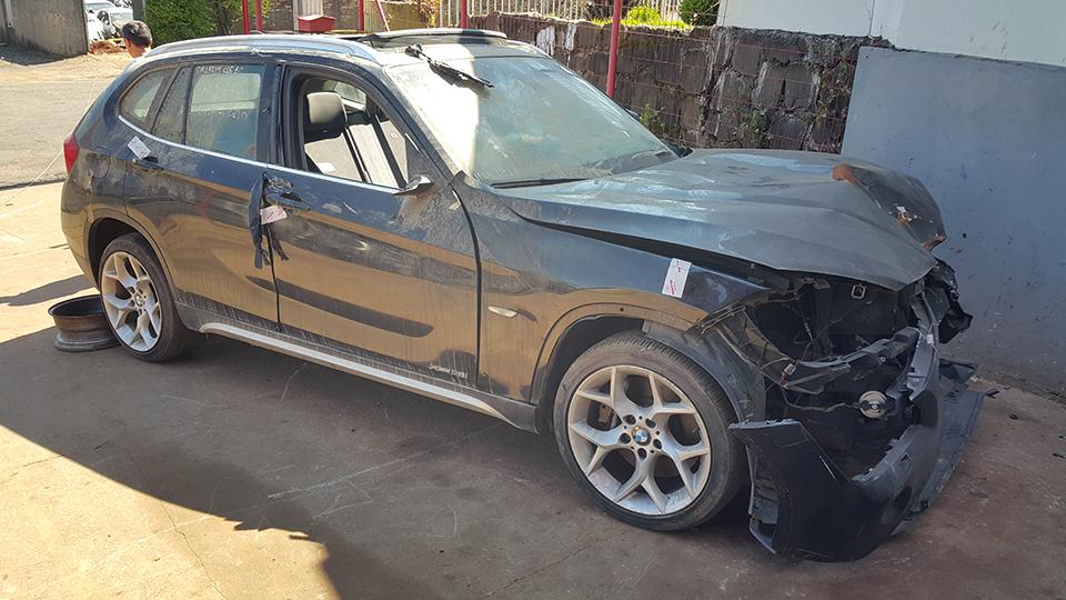 Sucata BMW X1 XDRIVE 2.8 VM31 3.0 258cv 4x4 Automatica Gasolina Ano: 2010/ 2011